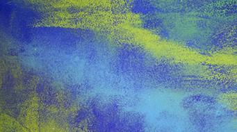 阿部光伸さんの作品は揺れ動く水草のようで時にとらえどころがないのですが、