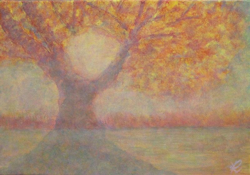 後藤理加・絵画「自然の思い」他四点